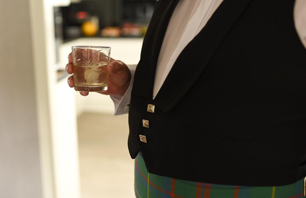 festival wedding scottish highlands