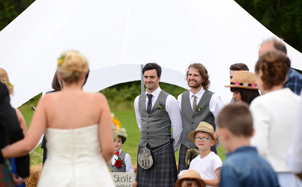 festival wedding ceremony Inverness