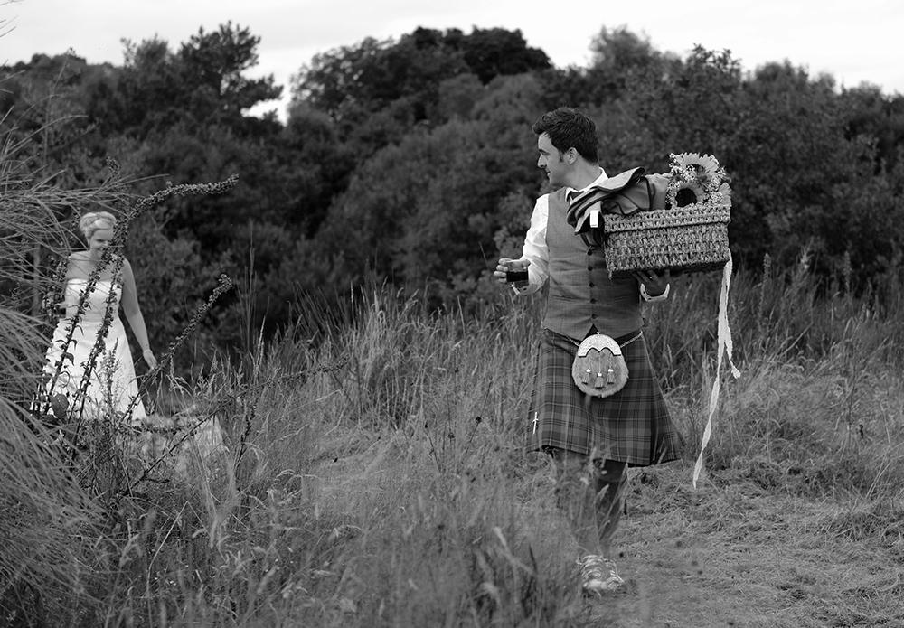 surprise picnic Inverness wedding