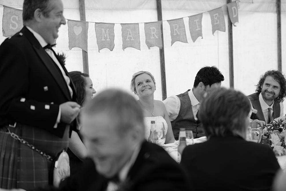 speeches Inverness festival wedding
