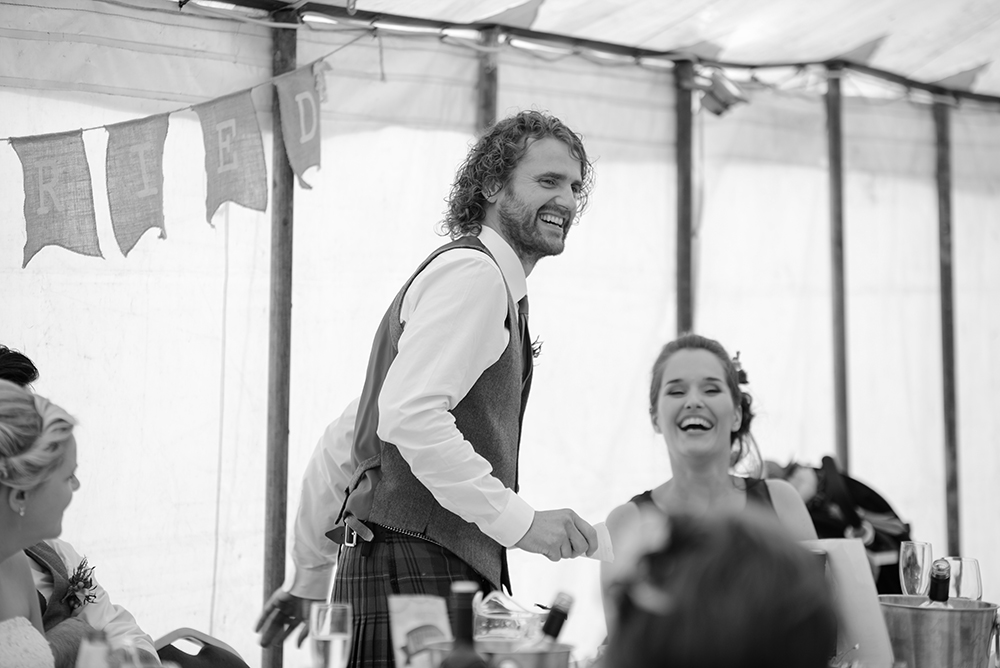 fun speeches festival wedding