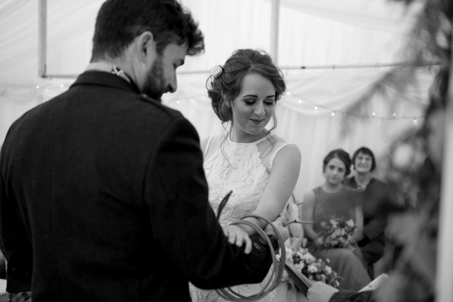 scottish wedding hand fasting