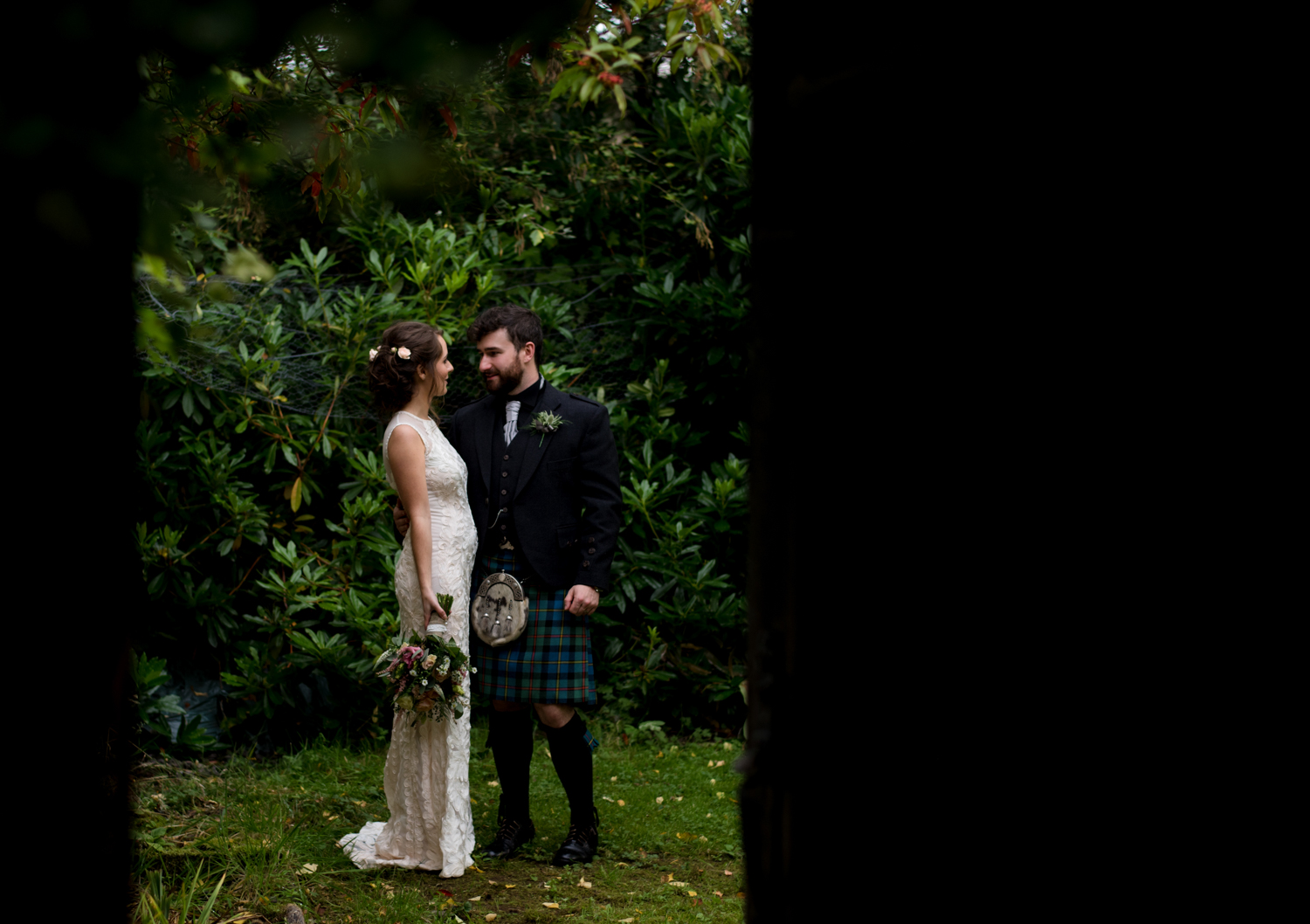 garden wedding scotland