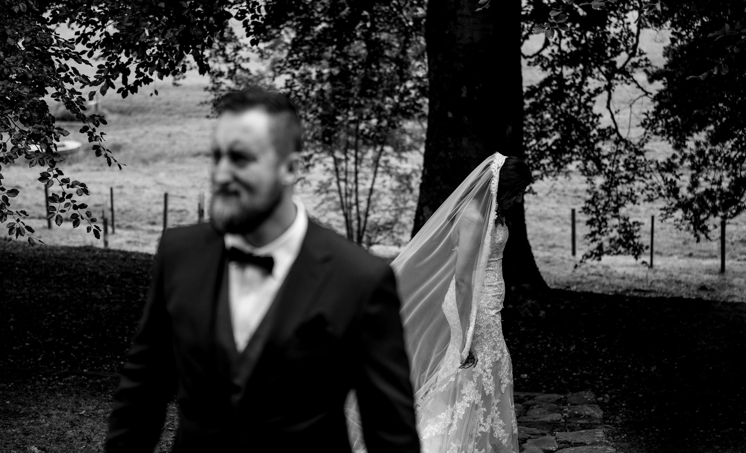 Scottish elopement - Australian couple in belladrum