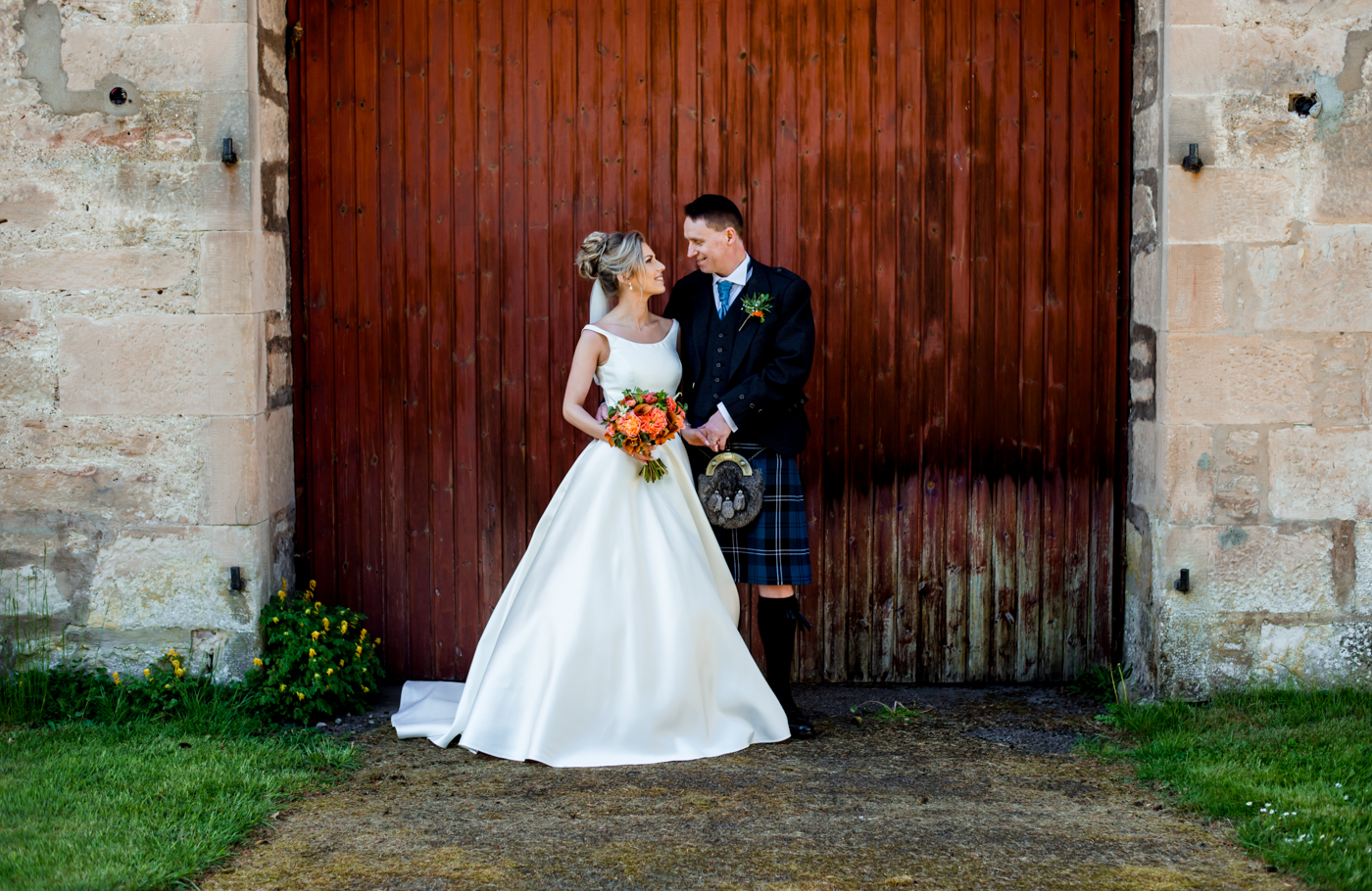 nairn wedding couple photos