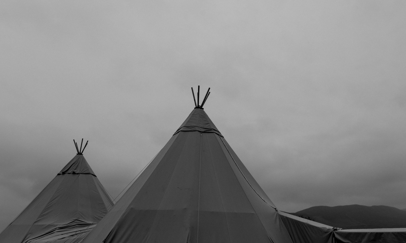 tipi wedding spinningdale