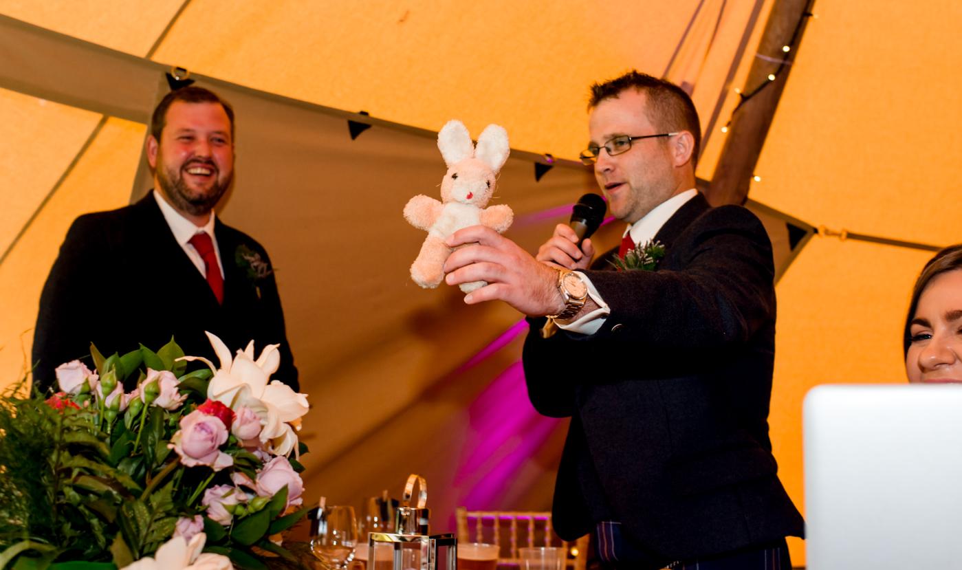 bestman teasing groom