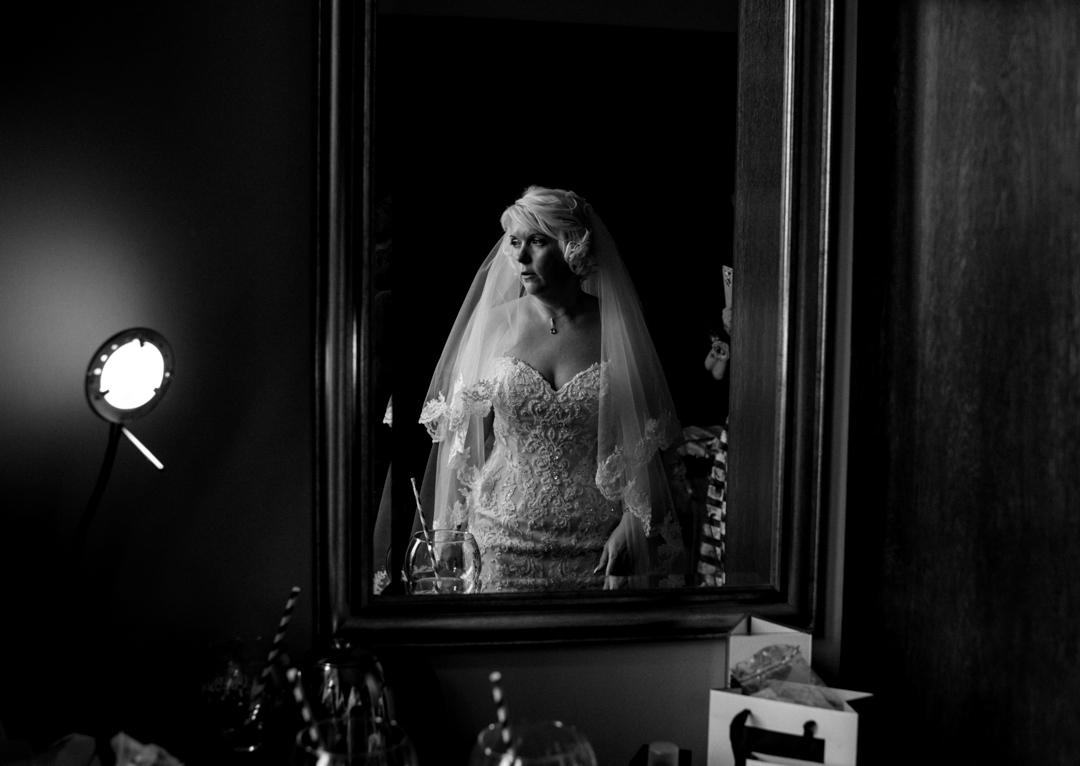 bridal portrait Cairngorm hotel